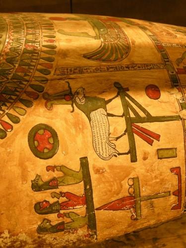 006エジプト彩色木棺の羊.JPG